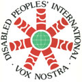 The Logo of Disabled Peoples International
